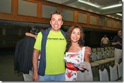 Alejandro Espinoza y Pilar Gutierrez