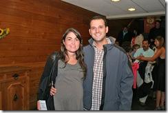 Francisca Navarro y Alvaro Greene de Santiago, El Bosa es muy gratificante escucharlo, nos gusta mucho