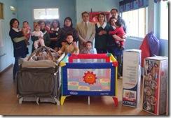 Rotary Club de Victoria dona cunas y corrales a jardín de Fundación Integra