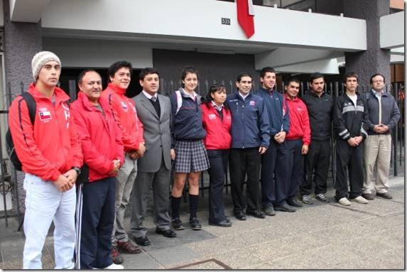 Destacados deportistas de La Araucanía se reunieron con autoridades de Gobierno