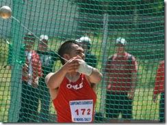 IND Araucanía suma un nuevo clasificado al Mundial de Atletismo