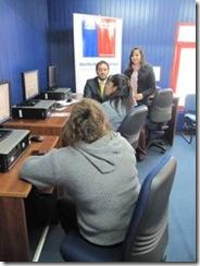 SERPLAC e INJUV colocan monitores e infocentros a disposición de beneficiarios de asignación social en La Araucanía