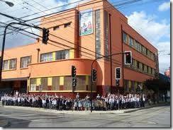 Apoderados de la Escuela Marcela Paz de Temuco recibe a autoridades para explicar el beneficio de Asignación Social