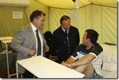 Supervisan obras en Hospital de Pitrufquén