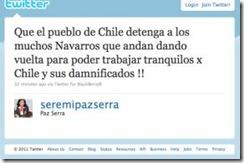 Twitter de Serra en defensa de Matte revoluciona redes sociales de La Araucanía