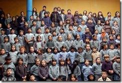 Municipio de Temuco lanzó proyecto educativo que busca disminuir los accidentes de tránsito en escuela Pedro de Valdivia