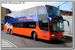 Pullman Bus volcó en el límite entre Malleco y la Región del Biobío