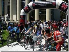 """Universidad Autónoma de Chile invita a participar en la 5º versión de la Cicletada Familiar """"Por una Ciudad más Verde"""""""