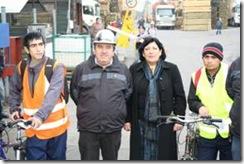 Seremi de Salud hace entrega de chalecos reflectantes a trabajadores