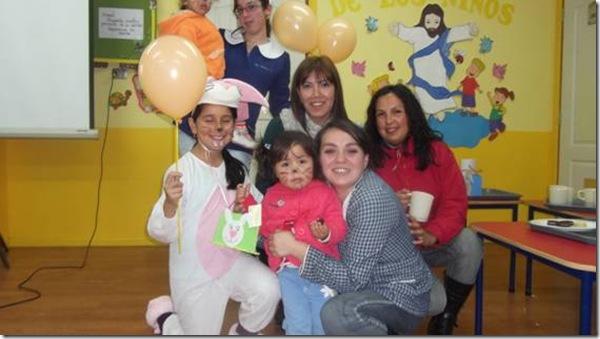 Salas Cunas y Jardines Infantiles celebraron pascua de resurrección con valor cristiano en Villarrica