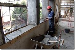 Importante avance en obras de remodelación del internado del liceo Gabriela Mistral