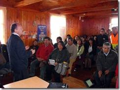 Familias de Quechocahuín tendrán respuestas por sus problemas de agua