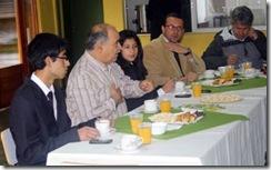 Centros de alumnos de los liceos y autoridades se reúnen en Lautaro