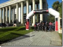 Más de 200 personas participaron en cicletada familiar impulsada por la U Autónoma