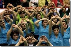 """Programa """"Mujer y Deportes"""" del IND inaugura en Angol su ciclo de eventos masivos 2011"""