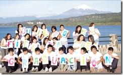 Con colaboración de OMJ estudiantes de Colegio Santa Cruz de Villarrica se preparan para postular a concurso televisivo