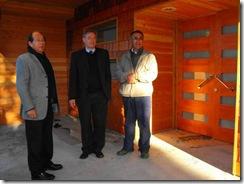 Alcalde Astete monitoreó obras en Liceo Bicentenario Araucanía