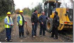 Intensos mejoramientos de caminos desarrolla Municipio de Villarrica