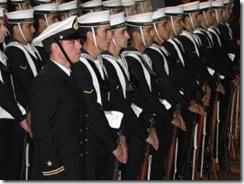 Con marinos de Talcahuano, padre Las Casas rindió honores a héroes de Iquique