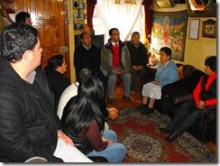 Seremi de Vivienda presentó estudio de seguridad a vecinos de calle Trekalén en Villarrica