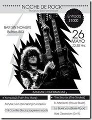 Nueva Noche de Rock en Temuco.