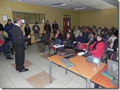Unión Comunal de Lautaro recibe capacitación acerca de Fondos Sociales