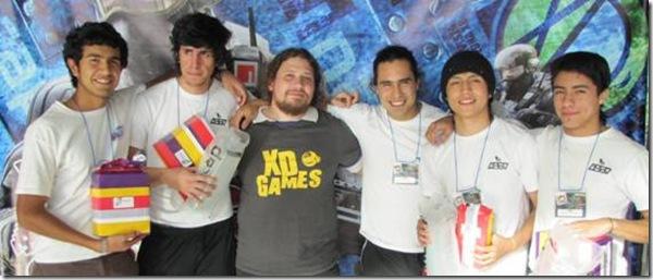 Jóvenes se reunen en Tarreo XD Games INACAP
