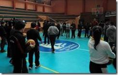 Curso de iniciación de básquetbol convocó a medio centenar de interesados