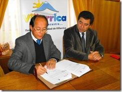 Municipio de Villarrica firmó convenio de colaboración con Universidad Autónoma de Chile