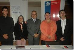 Seremi de Educación e Injuv Araucanía firman importante convenio para prácticas públicas