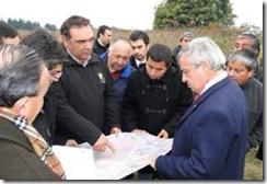 """Ministro Mañalich: """"Obras de hospital de Padre Las Casas comienzan en 2012"""""""