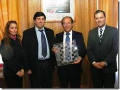 PDI Villarrica entregó estímulo en aniversario Nº 459 de Villarrica