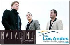 Madres celebrarán su día con Natalino en concierto gracias a Caja de Compensación Los Andes