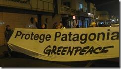 Temuco no estuvo ajeno a las manifestaciones contra Hidroaysén