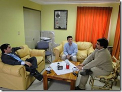 Visita de Consejero Regional a municipio de Ercilla