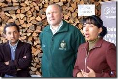 Alcalde Becker encabezó lanzamiento de Expoleña 2011 en Temuco