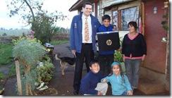 Hermanitos huérfanos fueron  premiados con un Notebook del programa Yo elijo mi PC