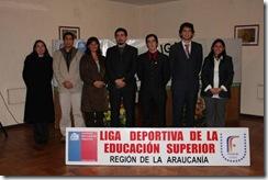 IND presenta en Temuco su programa Ligas Deportivas de Educación Superior