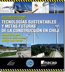 Seminario Tecnologías Sustentables y Metas Futuras de la Construcción en Chile