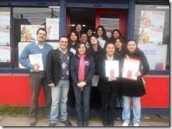 Jóvenes de la región reciben certificados de acreditación de INJUV Araucanía