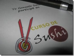 Exitoso curso taller de sushi se efectuó ayer