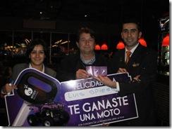 Enjoy Pucón entregó cuadrimoto en concurso