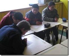 Conace previene realiza taller en escuela especial de Traiguén
