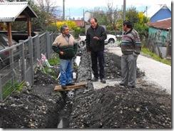 Municipalidad de Villarrica intensifica monitoreo de obras de pavimentación participativa