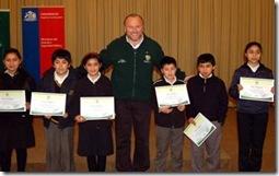 Municipio reconoció a estudiantes que obtuvieron becas Presidente de la República e Indígena