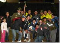 En el mes de la Prevención de Drogas Fútbol Calle se apoderó de Padre Las Casas