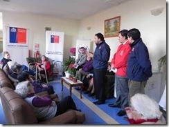 Autoridades regionales visitan hogar de ancianos