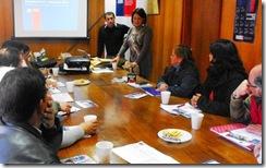 Funcionarios de la Seremi de Gobierno instruyeron a dirigentes vecinales en Villarrica