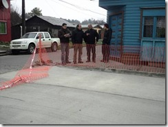 Reparado grave problema de evacuación de aguas lluvia en Nemesio Márquez de Villarrica