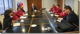 Exitoso encuentro de consejo de la discapacidad con ministro Kast en el Congreso